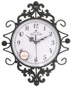 "#2802-AG Wee's Beyond 13.75"" Decorative Metal Wall Clock (case pack 6 pcs)"