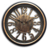 "#2804-AG Wee's Beyond 13"" Antique Decorative Wall Clock (case pack 6 pcs)"