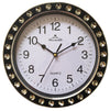 "#2806 Wee's Beyond 9"" Crystal Decorative Wall Clock (case pack 10 pcs)"