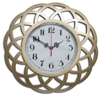 "#2823-CH Wee's Beyond 16"" Kaleidoscope Decorative Wall Clock (case pack 4 pcs)"