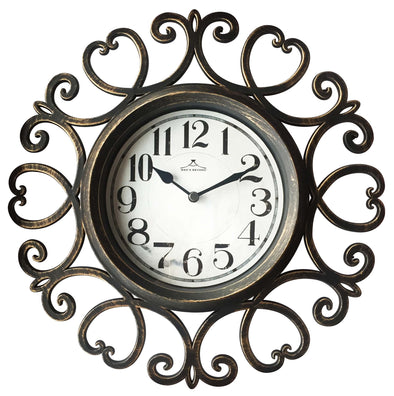 "#2828 Arts 12"" Wall Clock (case pack 6 pcs)"