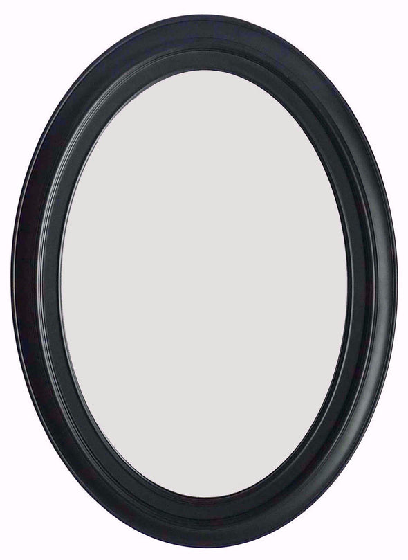 "#2856-M Classic Oval Shape 28.75""x21"" Wall Mount Dressing Mirror (case pack 6 pcs)"