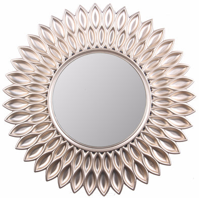 "#2857-M Sunflower Decorative Wall Mirror 24"" (case pack 8 pcs)"