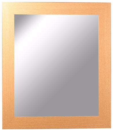 #2874-M Wall Rectangular Dressing Mirror - Assorted Colors (case pack 6 pcs)