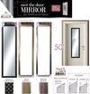 "#2887-B Over-the-door Mirror 50"" - Assorted Colors (case pack 6 pcs)"
