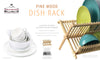#3003-NN Pine Wood Dish Rack (case pack 12 pcs)