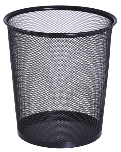 #3101-AST Mesh Wastebasket 5 GL Assorted Colors(case pack 20 pcs)