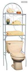 #3251 Over-the-Toilet Rack Space Saver - Silver (case pack 1 pc)