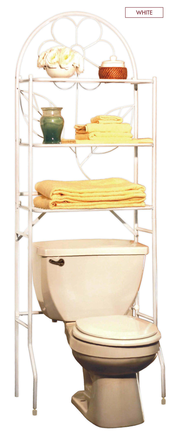 #3252 Over-the-Toilet Rack Space Saver - White (case pack 1 pc)