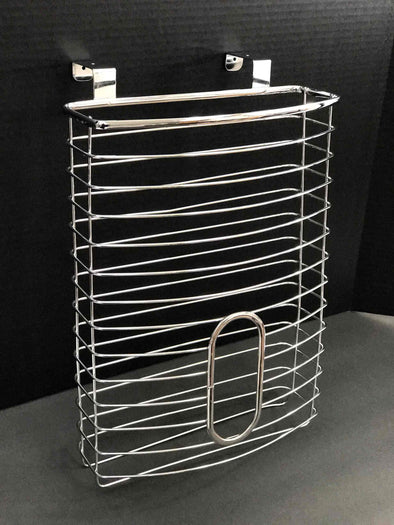#3508 Over-the-cabinet Grocery Bag Holder (case pack 6 pcs)