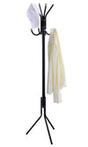 #3521-BLK Coat & Hat Stand Rack - Black (case pack 6 pcs)