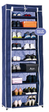 #3531-NBL Roll-up Door 9-Tier Shoe Closet (case pack 6 pcs)
