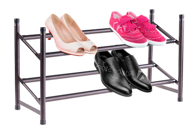 #3535-RZ Expandable and Stackable Shoe Rack (case pack 6 pcs)