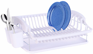 #3703-W Plastic Dish Drainer Set of 3 ( (case pack 3)