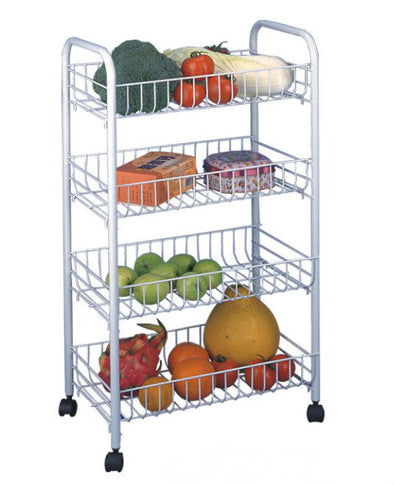 #3747 4-Tier Trolly / Rack (case pack 6 pcs)