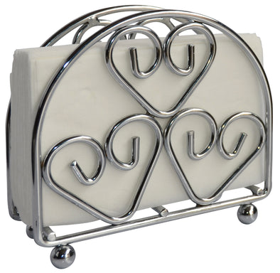 #3802 Chrome Napkin Stand (case pack 36 pcs)