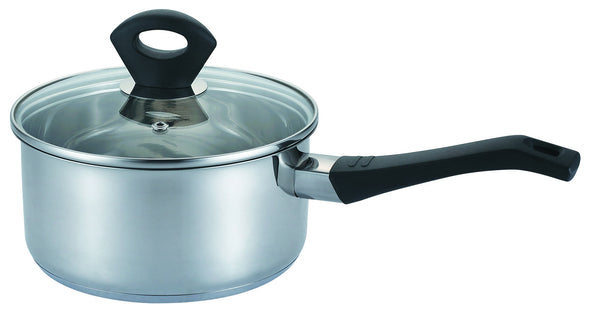 #5002-20 Stainless Steel Covered Sauce Pan 3.5 Qt (case pack 6 pcs)