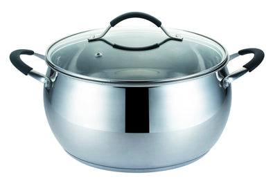 #5271-26Y Stainless Steel Covered Stock Pot 8.5 Qt (case pack 2 pcs)