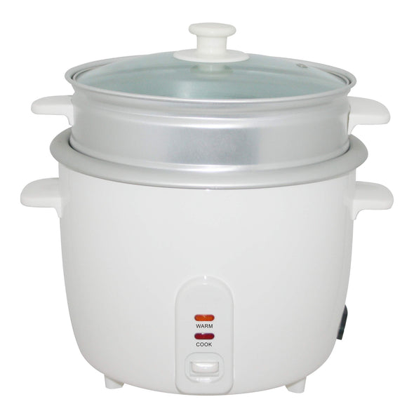 #5281-08 Electric Rice Cooker with Steamer 8 Cup (case pack 4 pcs)
