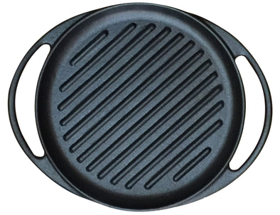 "#5303-RG Cast Iron 10"" Dish Size Grill (case pack 4 pcs)"