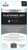 #5501 Flatware Set of 4 pieces (case pack 48 sets)