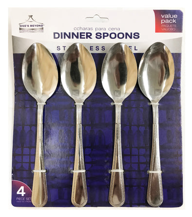#5502 Spoon Set of 4 pieces (case pack 48 sets)