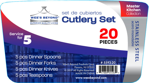#5593-20 Cutlery 20-pc Box Set (case pack 12)