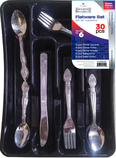 #5594-30 Flatware 30-pc Set (case pack 12)
