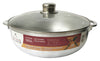 #6000-09 Aluminum Caldero with Glass Lid 7.5 Qt (case pack 6 pcs)