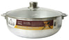 #6000-11 Aluminum Caldero with Glass Lid 10.6 Qt (case pack 6 pcs)