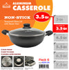#6231-24 Non-Stick Casserole 3.5 Qt (case pack 6 pcs)