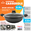 #6231-28 Non-Stick Casserole 5.5 Qt (case pack 6 pcs)