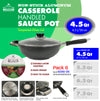 #6246-26 Non-Stick Handled Wok 4.5 Qt (case pack 6 pcs)