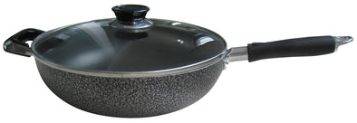 #6246-28 Non-Stick Handled Wok 5.5 Qt (case pack 6 pcs)