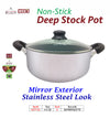 #6277-22 Non-Stick Stock Pot 4.5 Qt (case pack 6 pcs)
