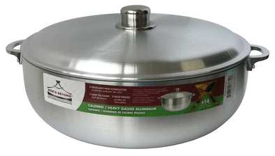 #6632-14 Heavy Guage Caldero with Aluminum Lid 11.5 Qt (case pack 6 pcs)