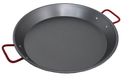 "#6812-C Carbon Steel Non-Stick 16"" Paella Pan (case pack 6 pcs)"
