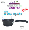 #6821-17 Carbon Steel Non-Stick Sauce Pan 1.8 Qt (case pack 12 pcs)