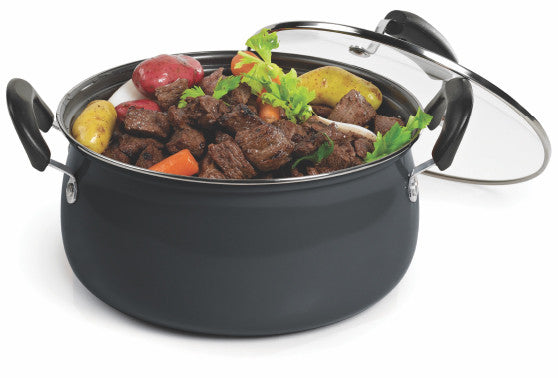 #6834-CB Carbon Steel Non-stick Dutch Oven 6 Qt (case pack 4 pcs)