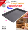 "#6847-C Non-stick bakeware Cookie Sheet Pan 17"" X 11"" (case pack 12 pcs)"