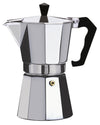 #7526-09 Brew-Fresh Aluminum Espresso Maker Large 9-cup (case pack 12 pcs)