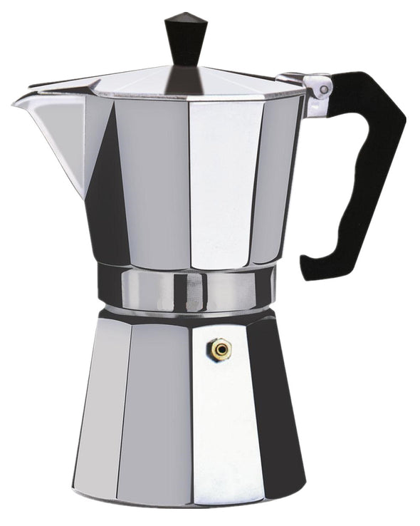 #7526-03 Brew-Fresh Aluminum Espresso Maker Small 3-cup (case pack 12 pcs)