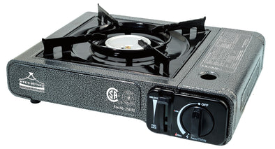 #7800-MM Portable Burner Gas Stove - Marbleized (case pack 6 pcs)