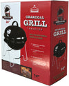 "#9910-14-BLACK Wee's Beyond 14"" Table top Grill (case pack 4 pcs)"