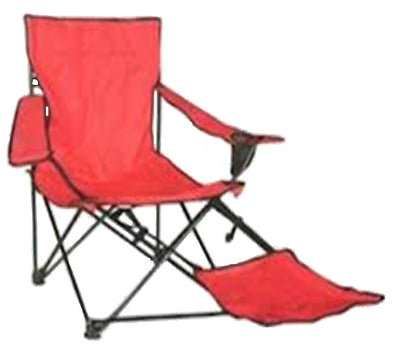 #9976-RD Wee's Beyond Large Foot and Arm-Rest Camping Chair (case pack 4 pcs)