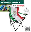 #9994-MX Wee's Beyond Large Camping Chair - Mexico Flag (case pack 6 pcs)