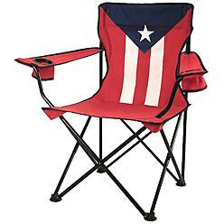 #9994-PR(9990) Wee's Beyond Large Camping Chair - Puerto Rico Flag (case pack 6 pcs)