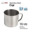 #A03-50785 Stainless Steel Cup w/Handle 18 oz  (case pack 6 pc/ master carton 120 pcs)