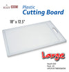 "#A20-50602 Large Plastic Cutting Board 18""x12.5"" (case pack 36 pcs)"