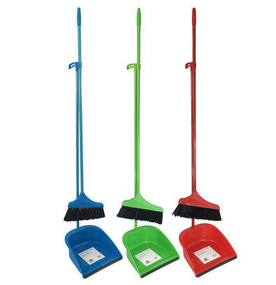 #A91-27610 Dustpan and Broom Set (case pack 24 pcs)